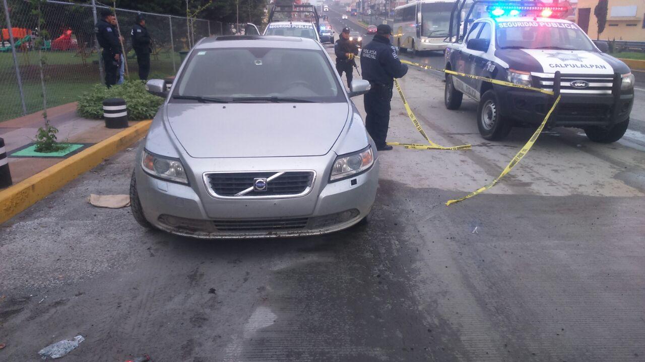 En operativo municipal recupera Policía de Calpulalpan tres vehículos