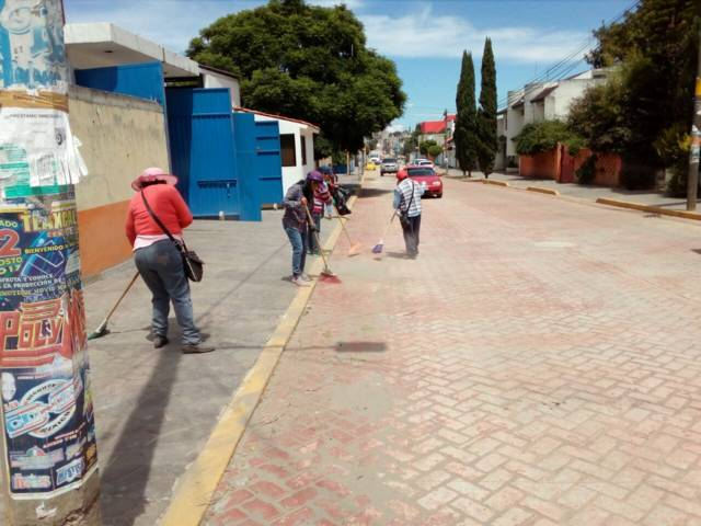 Realizan con éxito segunda campaña de limpieza en Texóloc