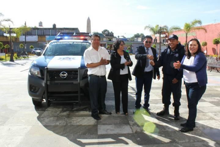 Fortaleciendo la seguridad mejoramos la calidad de vida de los pobladores: alcalde