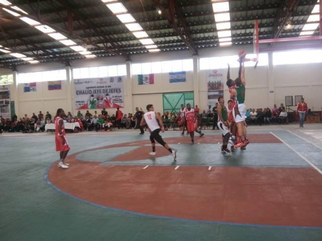 Arranco el Tour Latinoamericano de basquetbol en Ixtacuixtla