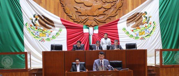 Diputados locales responden a exhortos del Congreso de la Unión
