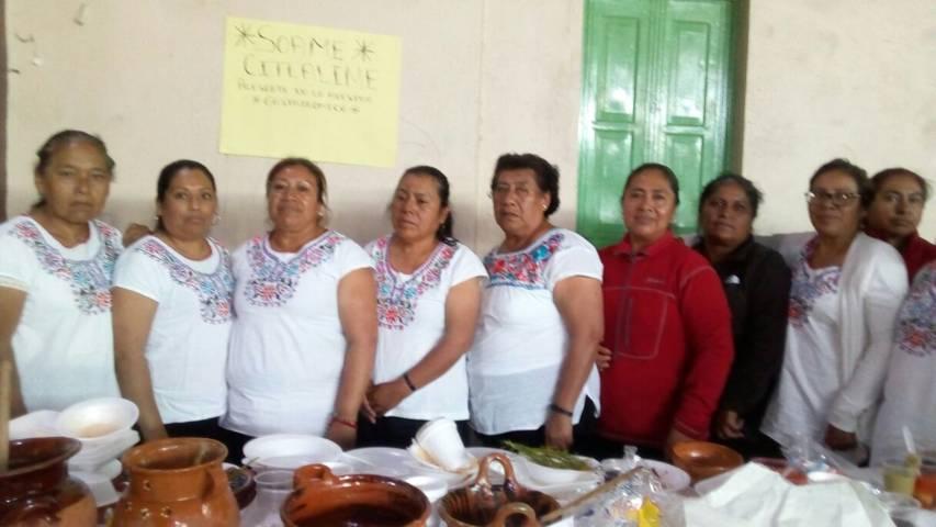 Todo un éxito la muestra gastronómica en la feria Matlalcueyetl 2017