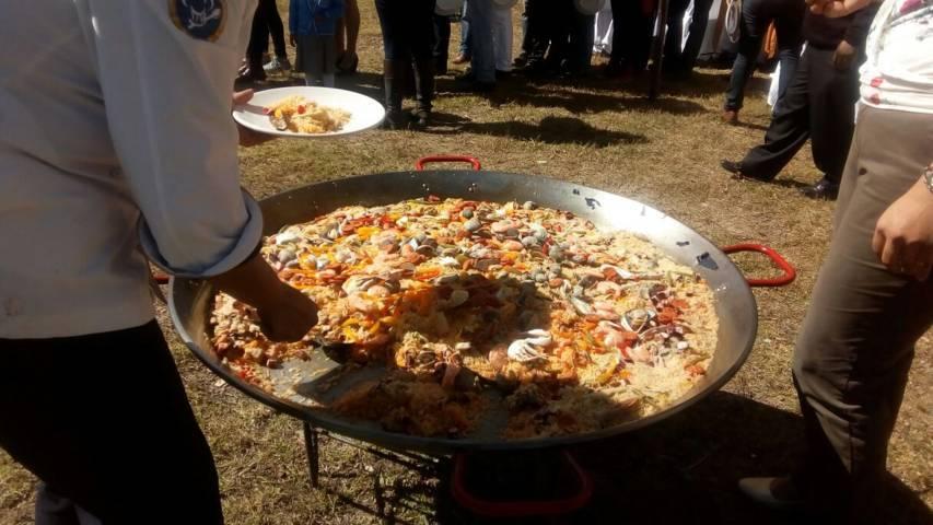 Las paellas y el Costeño todo un éxito en esta feria Tetlanohcan 2017: alcalde