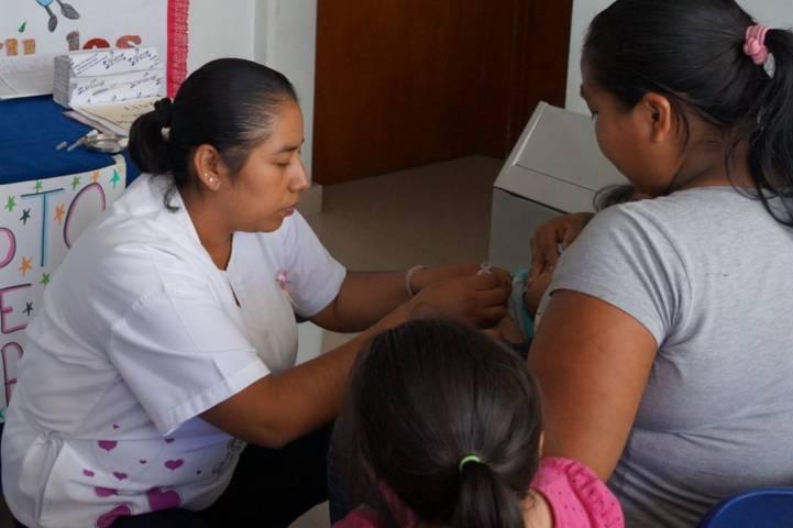 Inició la 3ra semana Nacional de Salud Xicohtzinco