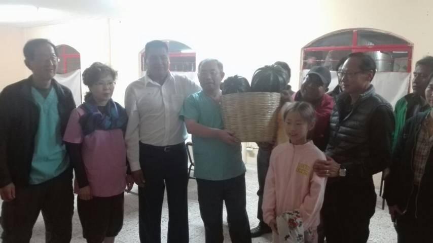 Fundación Rapha de Corea del Sur atiende a habitantes de San Isidro Buen Suceso
