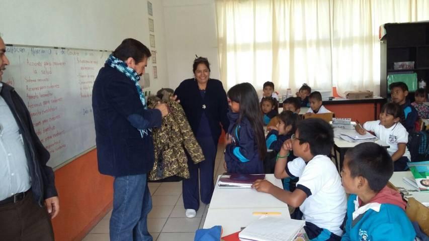 Sánchez Amador abriga a niños de escasos recurso