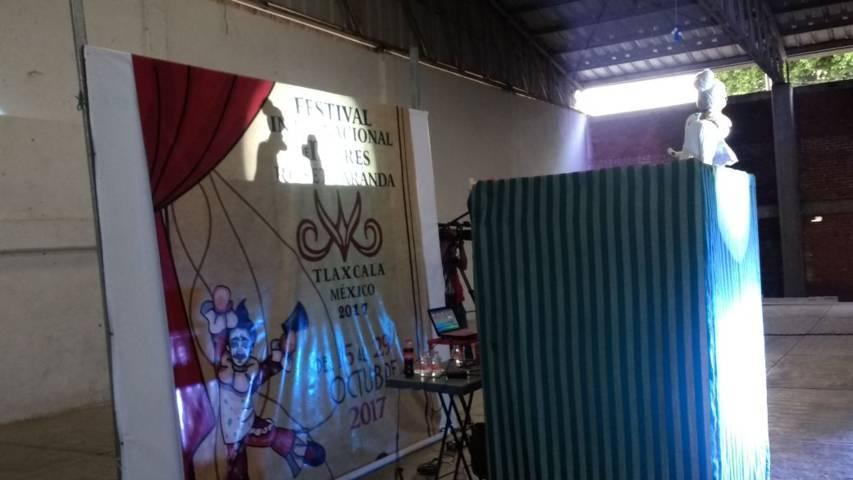 Gua Gua y su conciencia llego a Huactzinco fomentando valores en los jóvenes