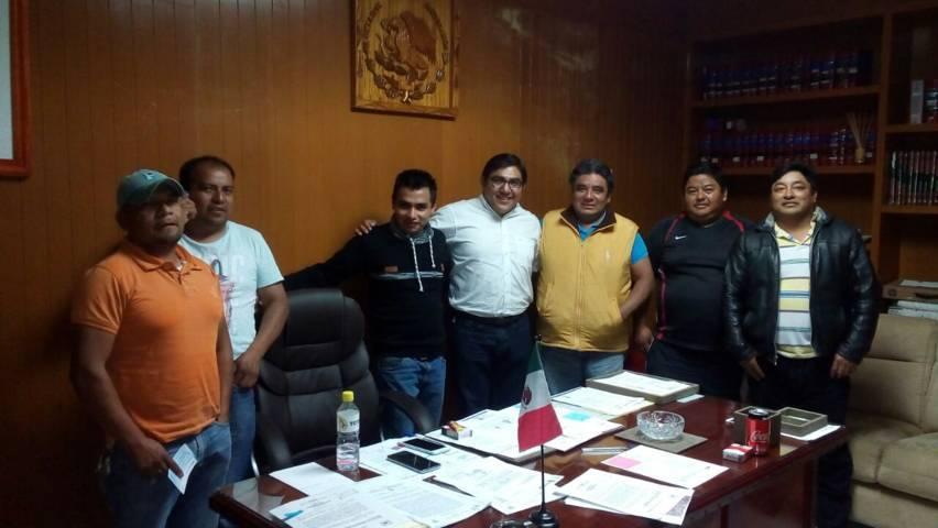 Entrega Alcalde de Totolac apoyo económico a tahoneros y el gremio