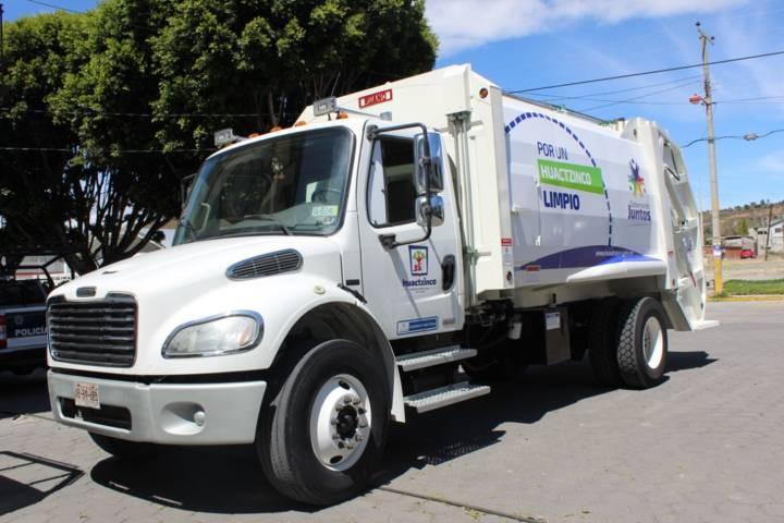 Con la rehabilitación del camión recolector de basura mejoramos el servicio: alcalde