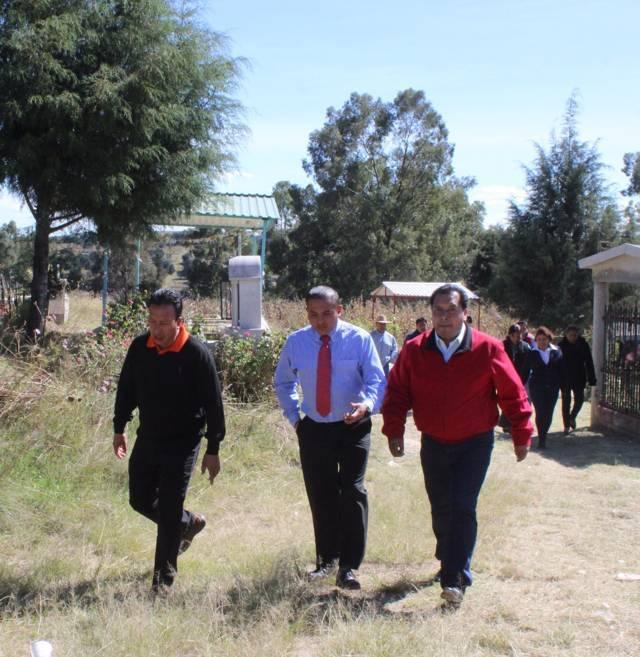 Los visitantes encontrarán un panteón municipal limpio y seguro: alcalde
