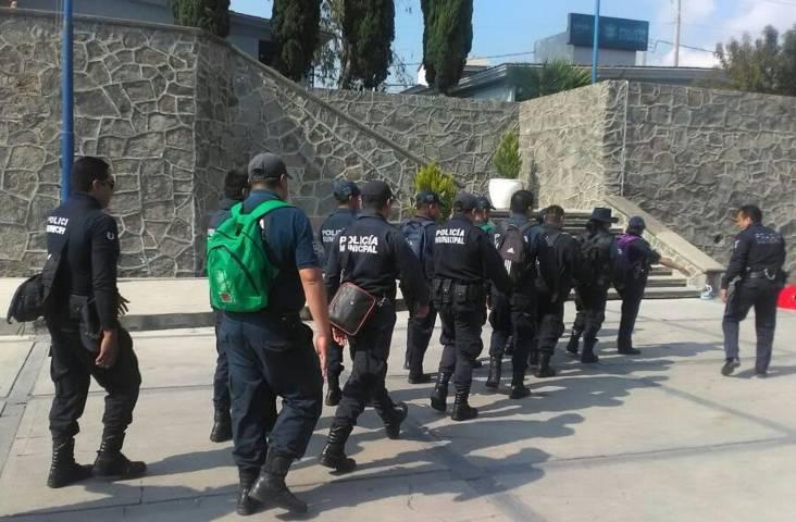 Policía Federal capacitó a elementos de Seguridad Pública de Lardizábal