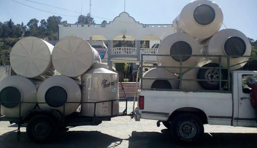Pobladores de Lardizábal son beneficiados con apoyos
