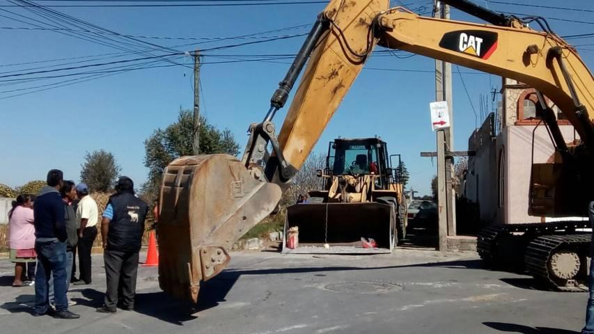 Una calle pavimentada mejora la calidad de vida de los vecinos: alcalde