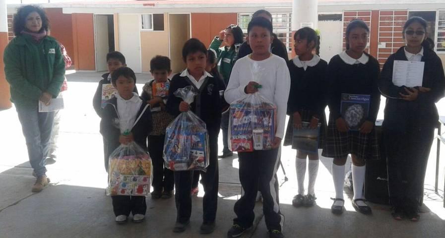 Alumnos de Lardizábal participan en Concurso de Dibujo y Pintura Infantil