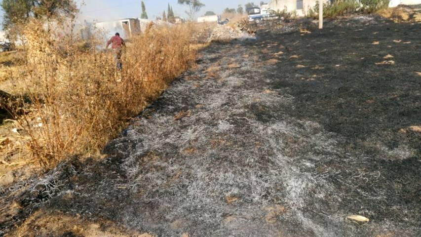 PC Lardizábal exhorta a realizar quema de pastizales de manera responsable