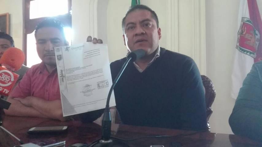 Alcalde de Chiautempan se deslinda de ex tesorera detenida