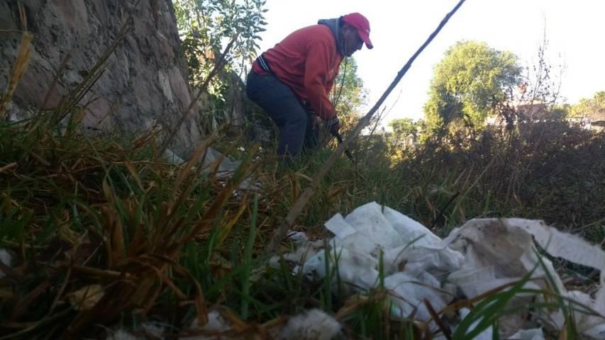 Con faenas de limpieza mejoramos la imagen de la Presa: Valencia Muñoz