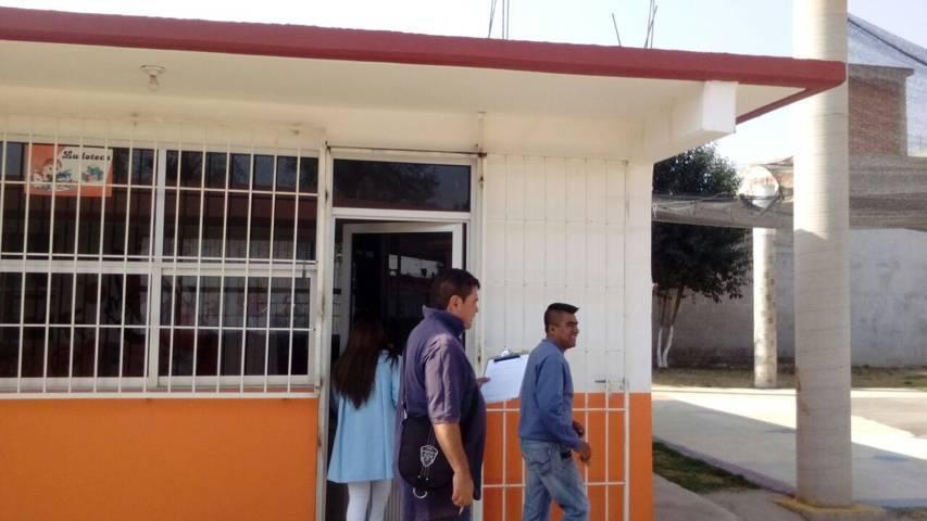 Protección Civil municipal supervisa escuelas tras sismo de la madrugada de 6 grados