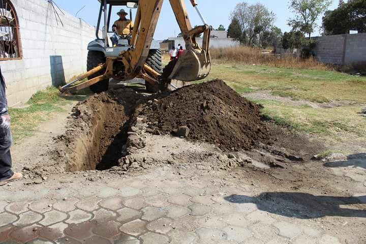 Pérez Juárez puso en marcha los trabajos de la ampliación de la red de agua