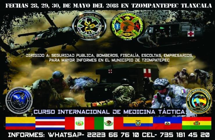 Ayuntamiento convoca a participar en el curso Internacional de Medicina Táctica