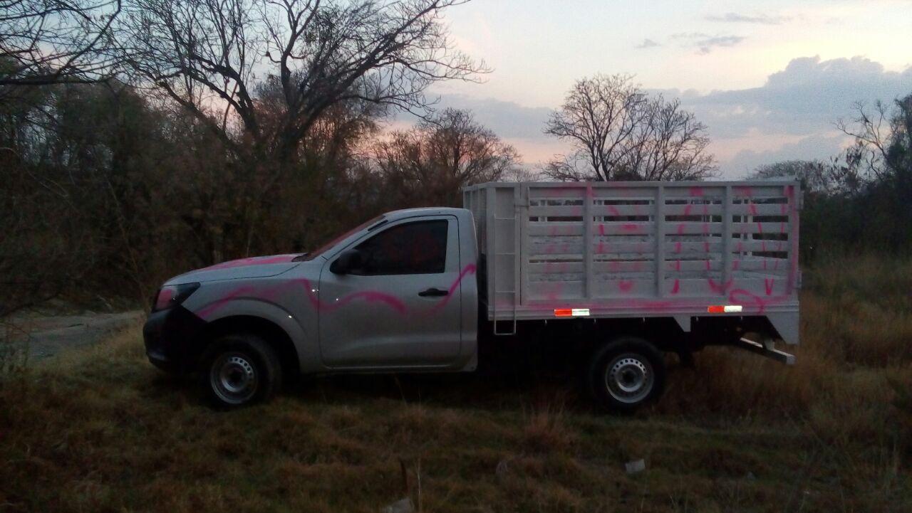 Policía municipal recupera camioneta con reporte de robo