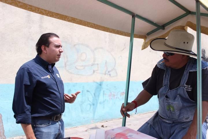 Los vecinos del oriente reconocen el trabajo de Humberto Macías como diputado local