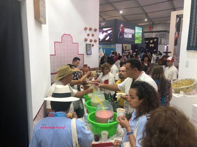 Nanacamilpa participa en el Tianguis Turístico de Mazatlán 2018