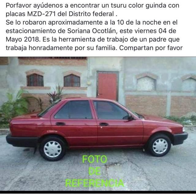 Nuevamente roban un vehículo en Soriana- Ocotlán