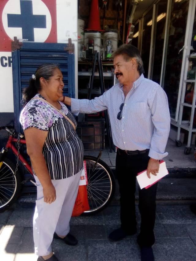 Ciudadanos distrito 4, con cabecera en Apizaco, expresan alta aceptación hacia Reyes Ruiz