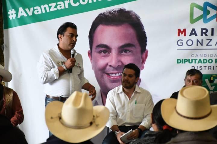 Trabajando con los productores hay unidad en el campo: Mariano González