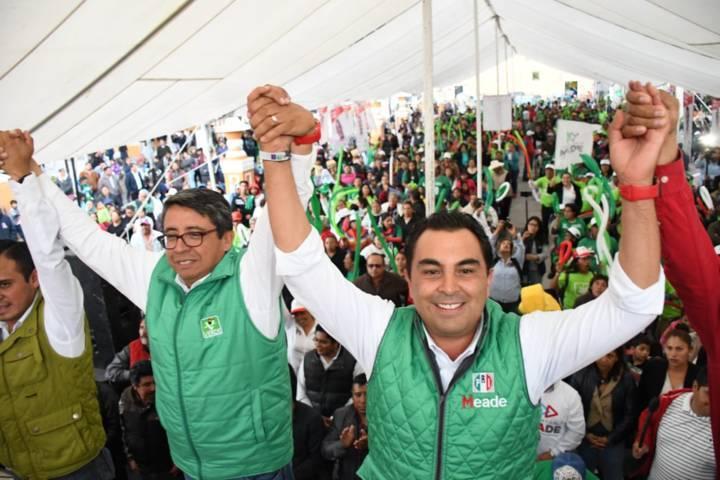 Cerrará Mariano en Tlaxco y Xalostoc su campaña a Diputado Federal