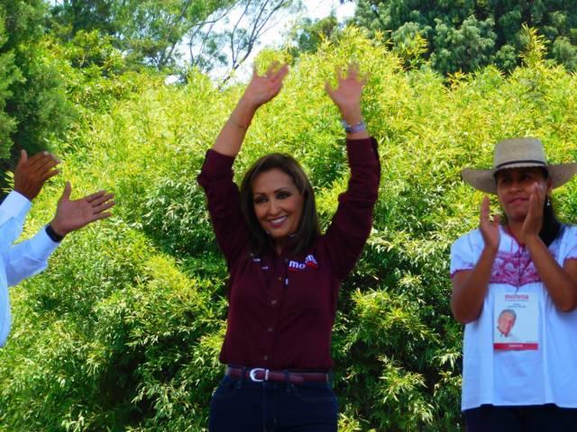 Pide Lorena apoyar a todos los candidatos de MORENA