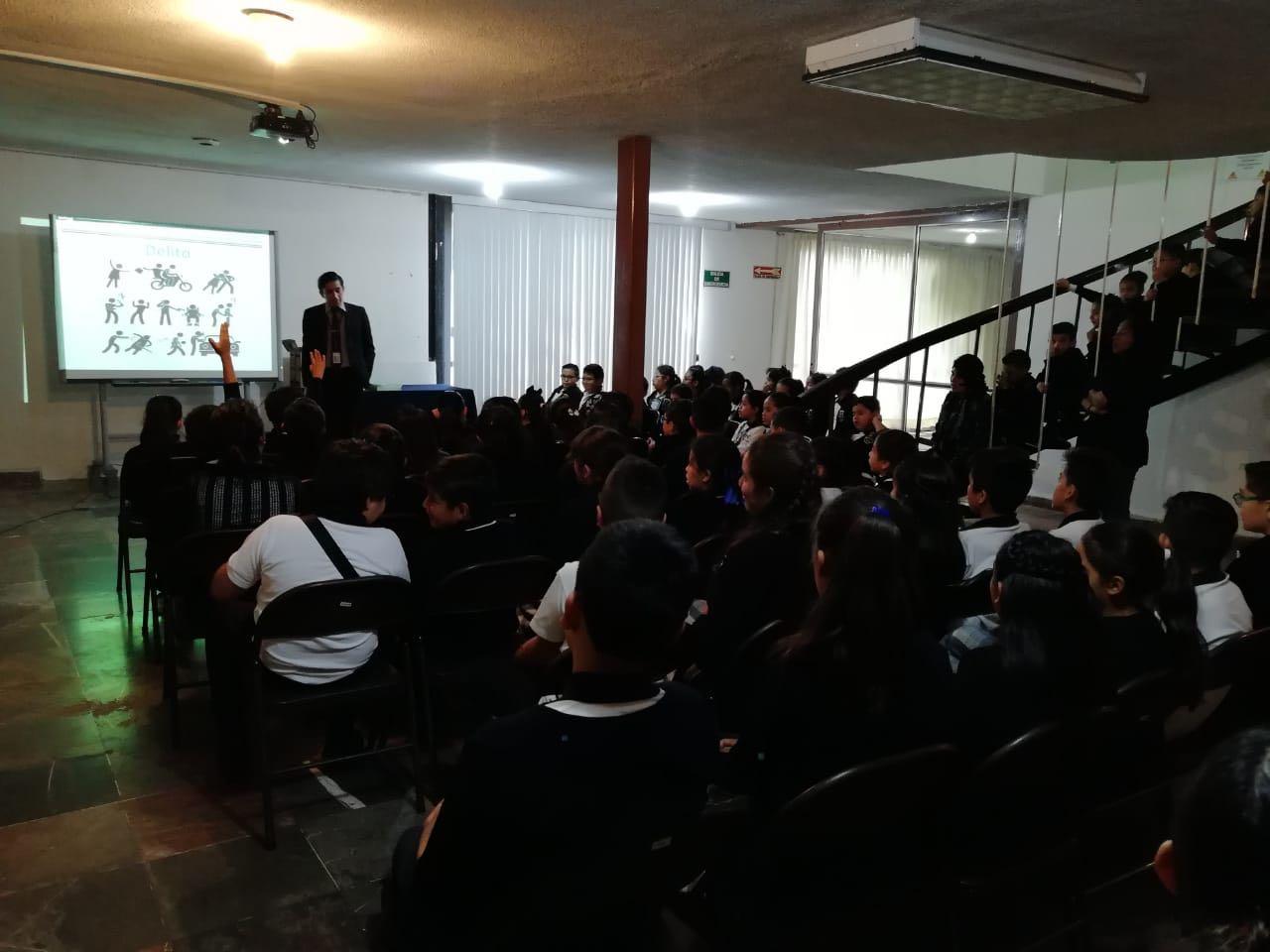 """PGR realiza plática de """"Prevención del Bullying y Drogas"""" en Tlaxcala"""