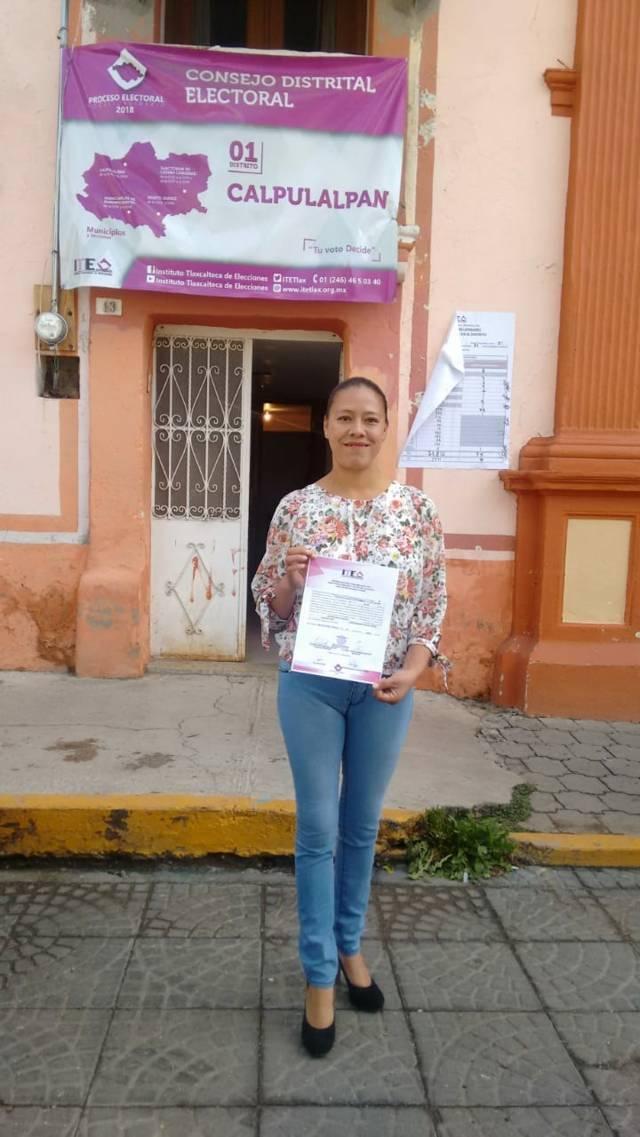 Luz Vera Díaz ya es diputada electa y representará a Morena