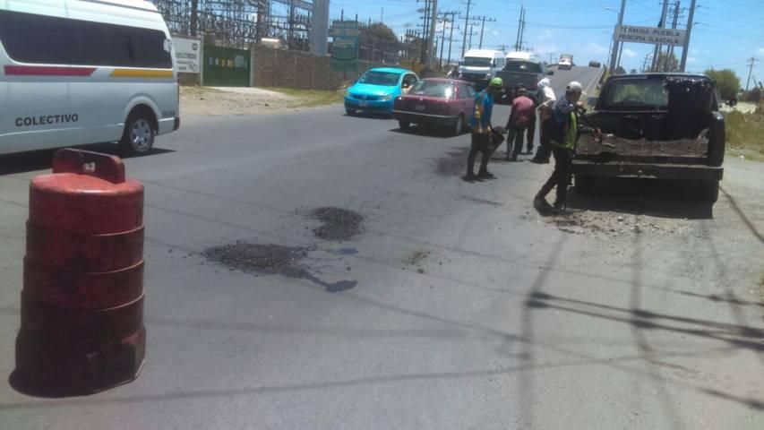 Gobierno de Lardizábal implementó acciones de bacheo