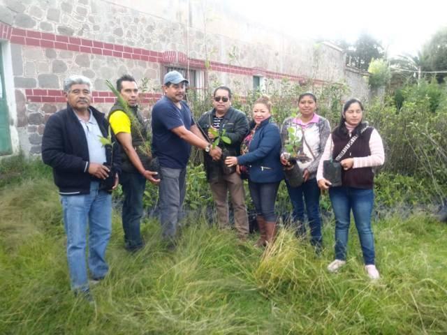 """Carin Molina encabeza campaña de reforestación """"A Todo Pulmón"""""""