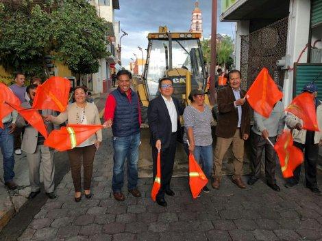 Con 4 mdp inicia programa de obras en Papalotla