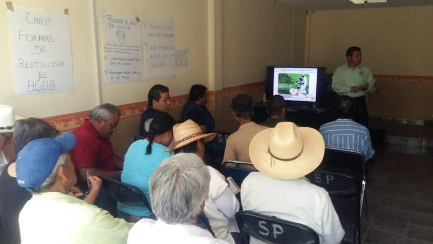 Ayuntamiento de Lardizábal realizó fumigación para combatir el chapulín