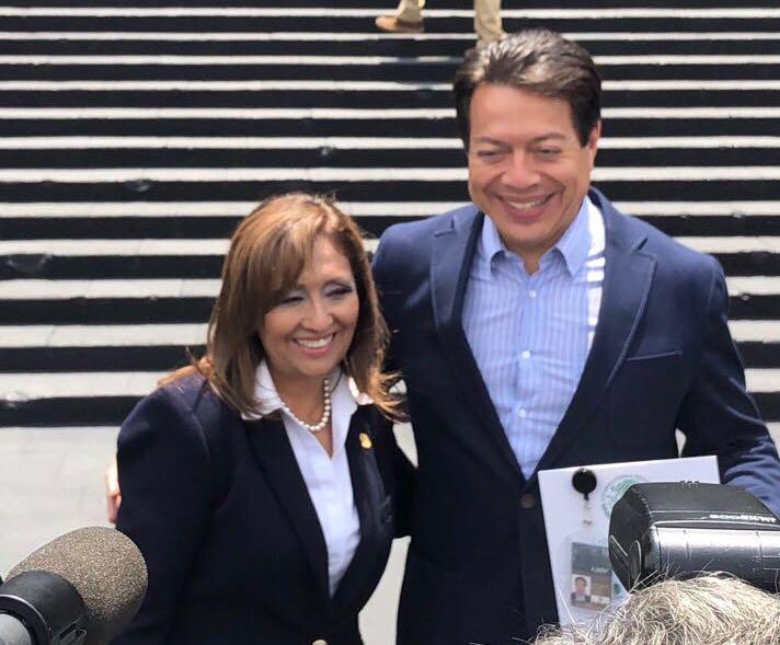 Lorena aplaude designación de Delgado como coordinador de Morena