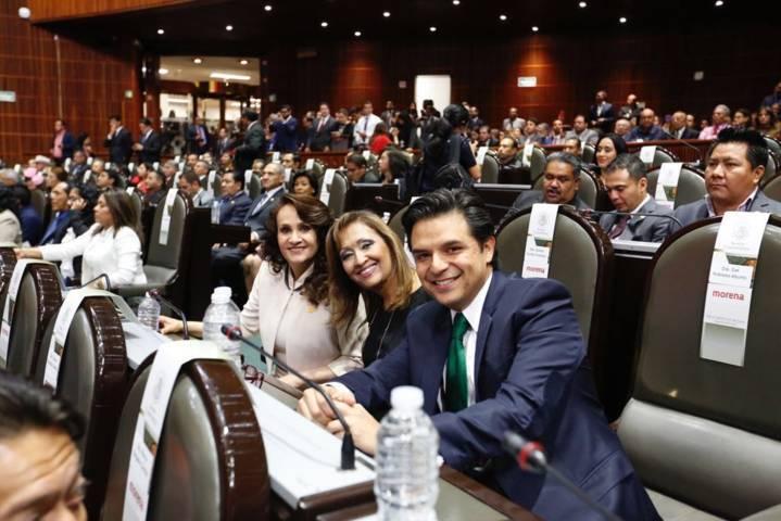 Lorena Cuellar Cisneros, nueva Diputada Federal de Morena