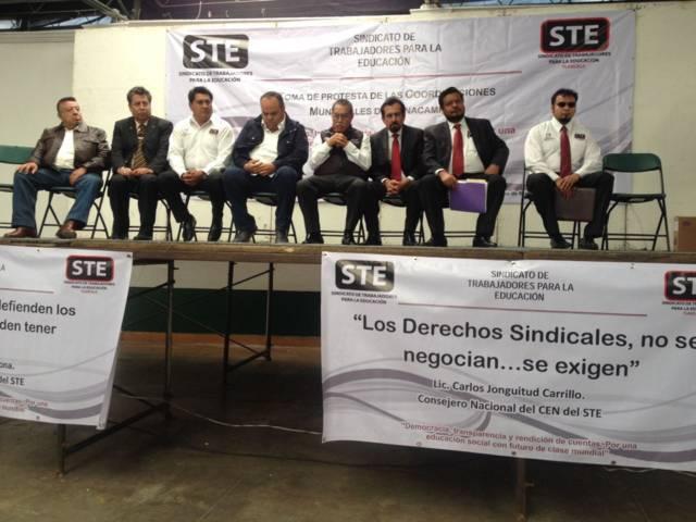 Coincidencias y trabajo conjunto con Gordillo, dice Carlos Jonguitud