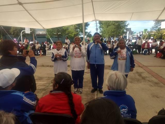 Excelente participación de abuelitos de Lardizábal en los XX Juegos Estatales Deportivos