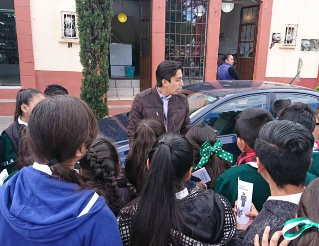 PGR participa en la clausura de prevención del delito realizada en Tlaxco