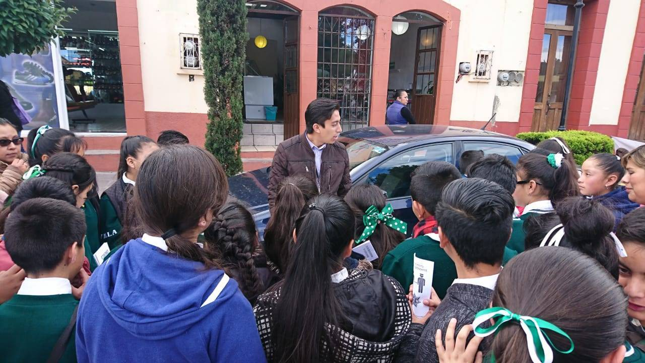 Cientos de jóvenes atendidos por el área de Prevención del Delito en Tlaxcala