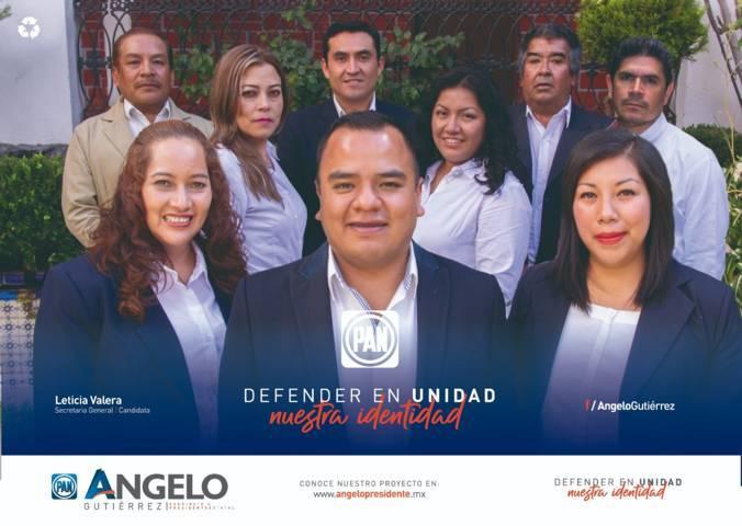 Presenta Ángelo Gutiérrez 12 propuestas para la dirigencia estatal del PAN