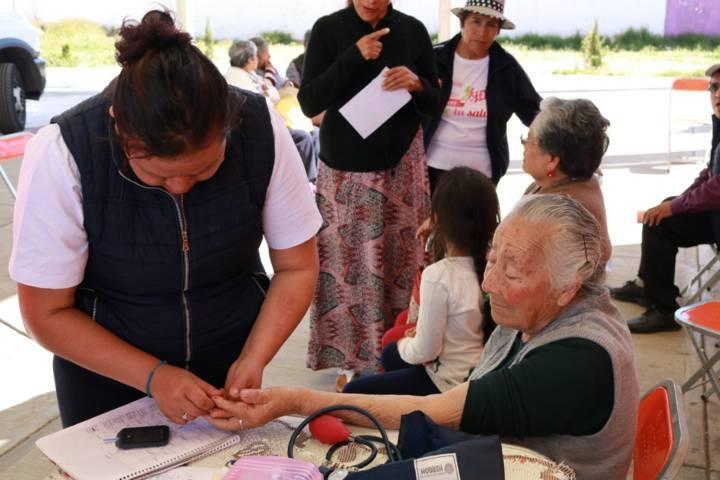 Caravana de Salud  beneficia a población de Papalotla