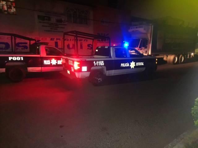 Policía de Papalotla y CES recuperan vehículo en Panzacola