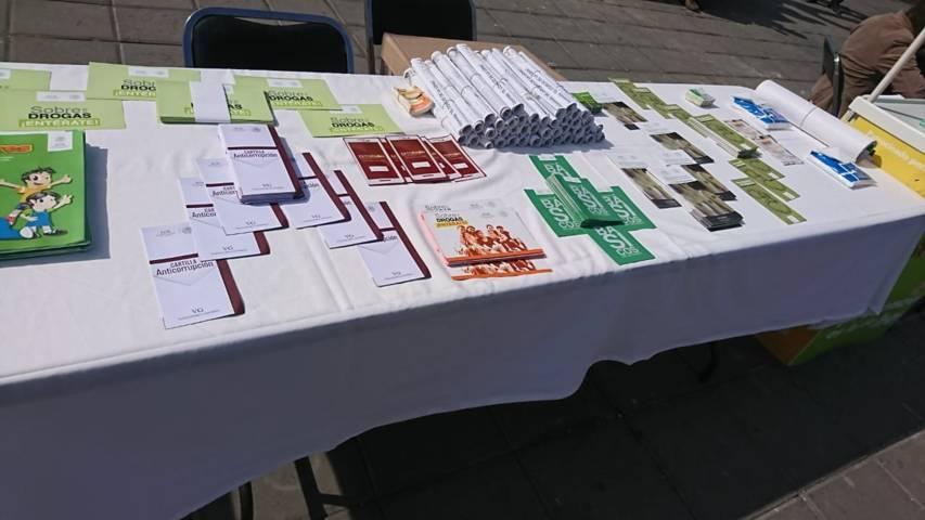 PGR Tlaxcala participa con stand informativo en el municipio de Zacatelco
