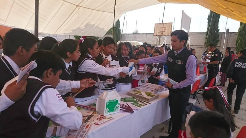Realizan Festival de Derechos Humanos en Santa Ana Chiautempan