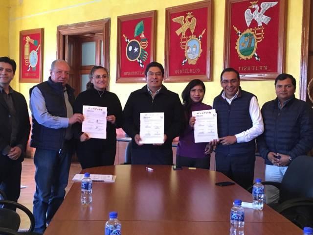 Firma Presidente de Ixtenco y Secretario de Turismo convenio de colaboración